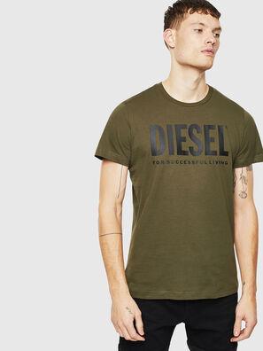T-DIEGO-LOGO, Verde Militar - Camisetas