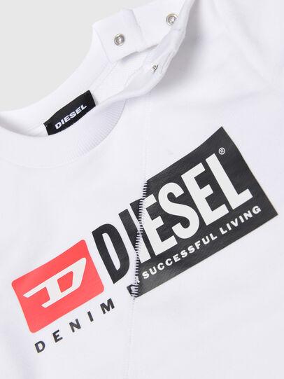 Diesel - SGIRKCUTYB, Blanco - Sudaderas - Image 3