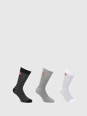SKM-RAY-THREEPACK, Multicolor/Negro - Calcetines