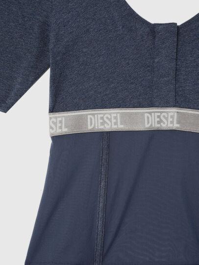 Diesel - UFTEE-TOPCUT-DN, Azul - Camisetas - Image 3