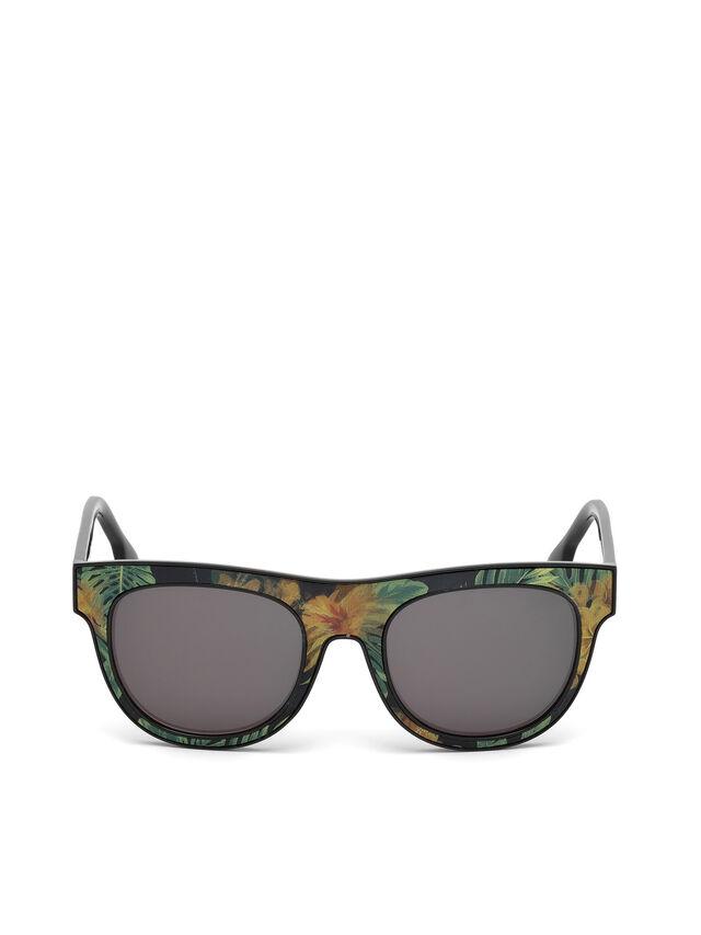 Diesel - DM0160, Negro/Naranja - Gafas de sol - Image 1