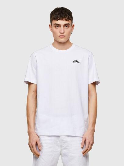 Diesel - T-JUST-E15, Blanco - Camisetas - Image 1