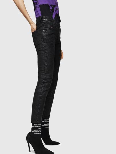 Diesel - Krailey JoggJeans 084AG, Negro/Gris oscuro - Vaqueros - Image 5