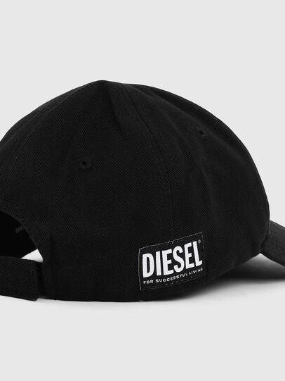 Diesel - LR-CAP, Negro - Gorras - Image 3