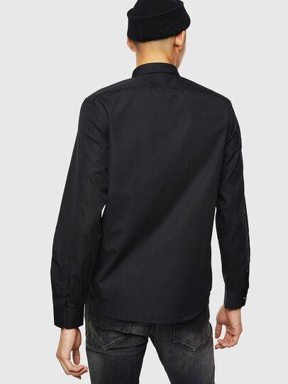 Diesel - S-MARLENE, Negro - Camisas - Image 2