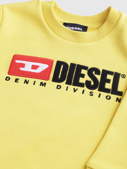 Diesel - SCREWDIVISIONB-R, Amarillo - Sudaderas - Image 3