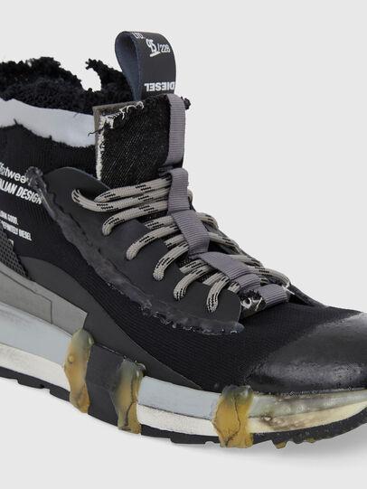 Diesel - H-PADOLA GL, Negro - Sneakers - Image 4