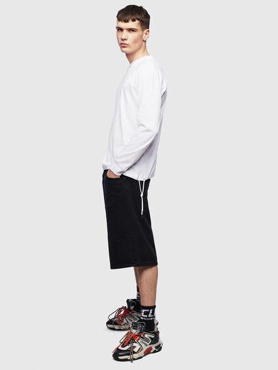 Diesel - T-HUSTY-LS, Blanco - Camisetas - Image 8