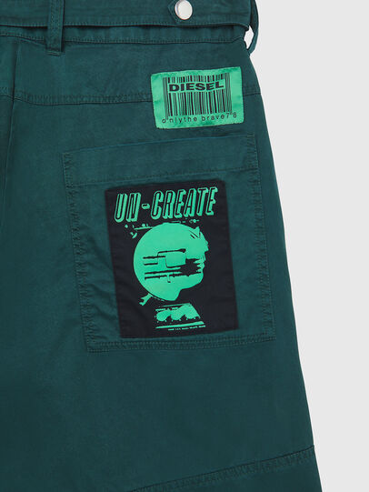 Diesel - P-DUGA-SHO, Verde Oscuro - Shorts - Image 4