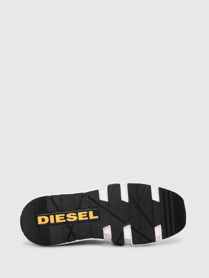 Diesel - H-PADOLA HIGH SOCK, Blanco - Zapatillas - Image 4