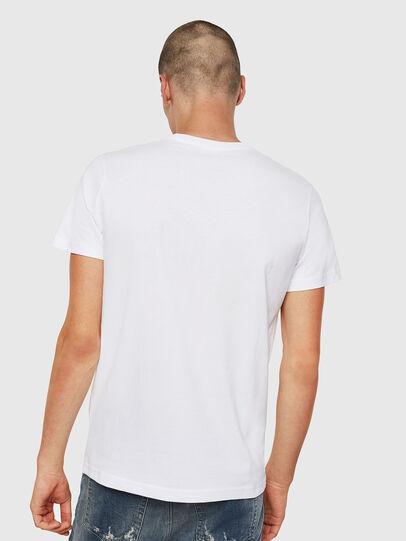 Diesel - T-DIEGO-DIVISION, Blanco - Camisetas - Image 2