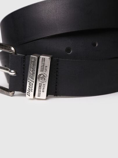 Diesel - B-GUARANTEE, Negro - Cinturones - Image 2