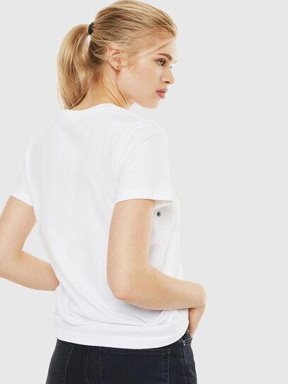 Diesel - T-SILY-WO, Blanco - Camisetas - Image 2