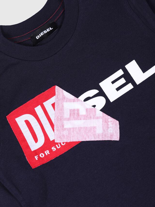 Diesel - TOQUEB-R, Azul Marino - Camisetas y Tops - Image 3
