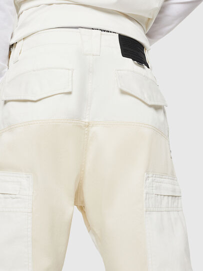 Diesel - P-LUKK, Blanco - Pantalones - Image 3