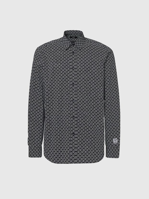 S-RILEY-KA, Negro - Camisas