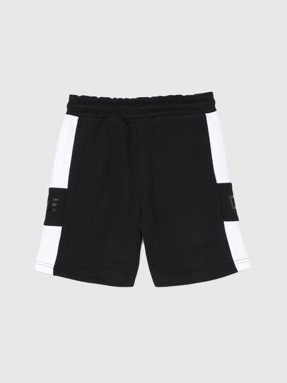 Diesel - PSHAM, Negro/Blanco - Shorts - Image 2