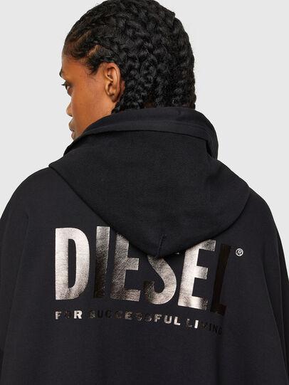 Diesel - F-BILLY-LOGO, Negro - Sudaderas - Image 4