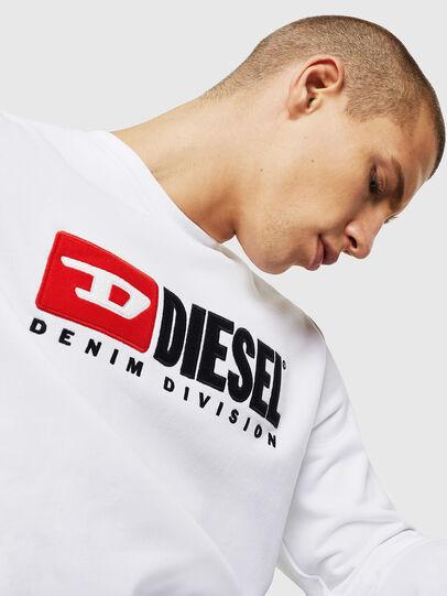 Diesel - S-GIR-DIVISION, Blanco - Sudaderas - Image 4