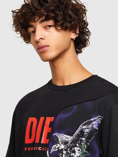 Diesel - T-BLAST, Negro - Camisetas - Image 3