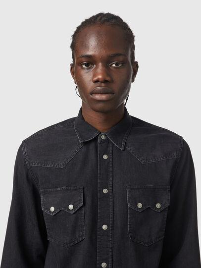 Diesel - D-EAST-P1, Negro - Camisas de Denim - Image 3