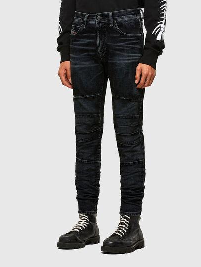 Diesel - D-Strukt JoggJeans® 069TG, Negro/Gris oscuro - Vaqueros - Image 7