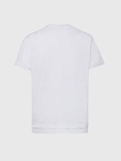 Diesel - T-DIAMANTIK-NEW2, Blanco - Camisetas - Image 2