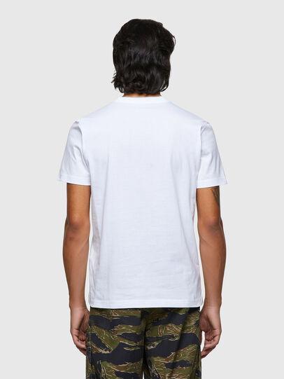 Diesel - T-DIEGOS-ECOLOGO, Blanco - Camisetas - Image 2