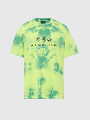 T-JUST-SLITS-X86, Verde/Amarillo - Camisetas