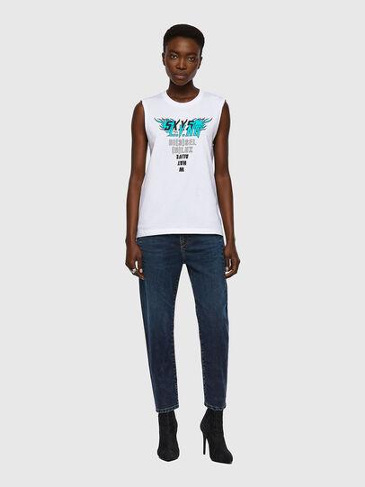 Diesel - T-SILESS, Blanco - Camisetas - Image 4
