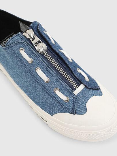 Diesel - S-ASTICO LZIP, Azul - Sneakers - Image 4
