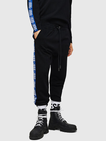 Diesel - K-SUIT-B, Negro/Azul - Pantalones - Image 1