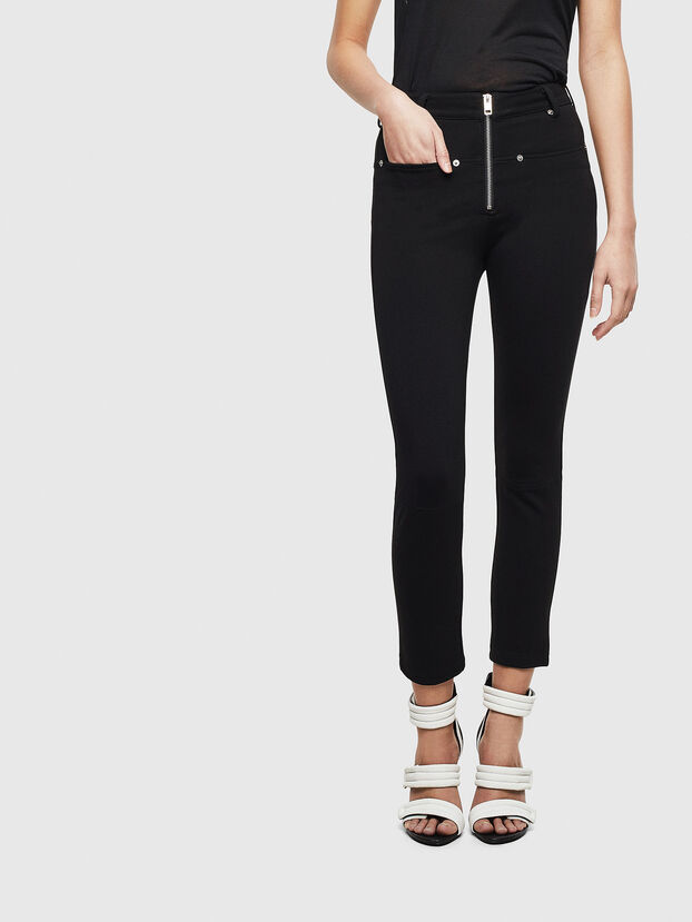 P-GLASSY, Negro - Pantalones
