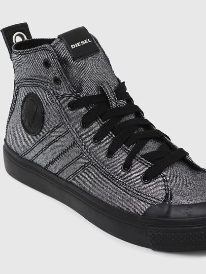 Diesel - S-ASTICO MID LACE W, Gris - Sneakers - Image 4