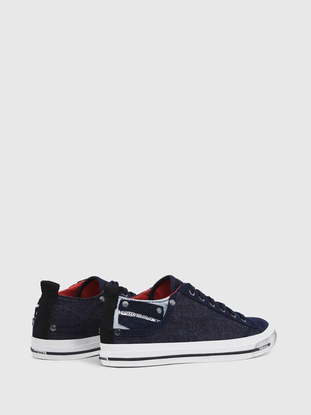 Diesel - EXPOSURE IV LOW  W, Azul Oscuro - Sneakers - Image 3