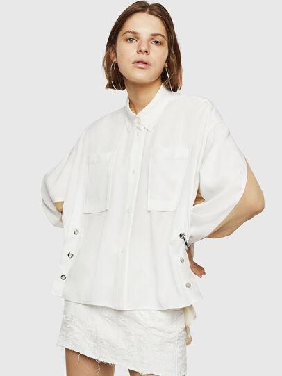 Diesel - C-LEXYS, Blanco - Camisas - Image 1
