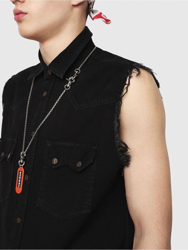 Diesel - D-KIRU, Negro - Camisas de Denim - Image 3