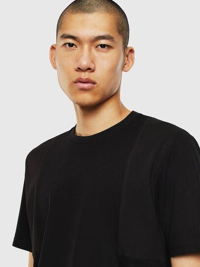 Diesel - T-TOMI, Negro - Camisetas - Image 3