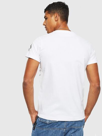 Diesel - T-DIEGO-S3, Blanco - Camisetas - Image 2