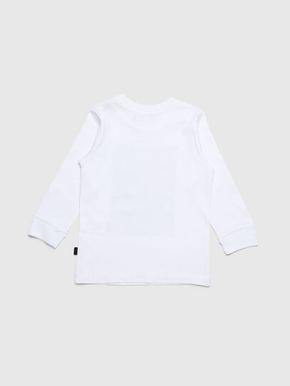 Diesel - TRAVEB-R, Blanco - Camisetas y Tops - Image 2