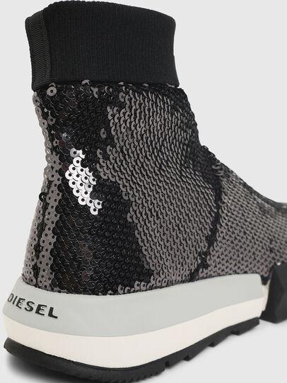 Diesel - H-PADOLA SOCK W, Negro - Sneakers - Image 5