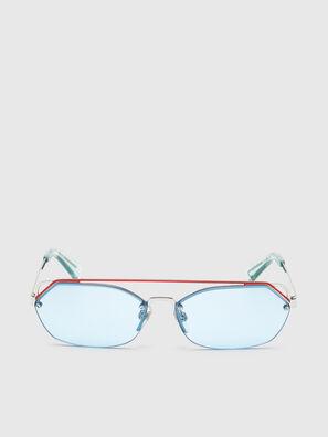 DL0313, Blanco/Rojo - Gafas de sol