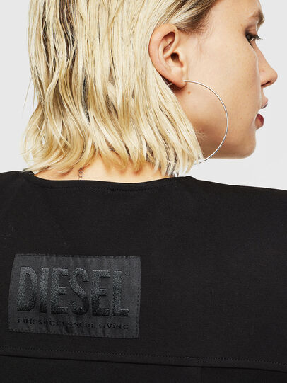 Diesel - D-SKUSA, Negro - Vestidos - Image 5