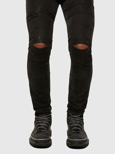 Diesel - D-Strukt JoggJeans 009GH, Negro/Gris oscuro - Vaqueros - Image 5