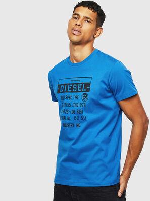 T-DIEGO-S1, Azul - Camisetas