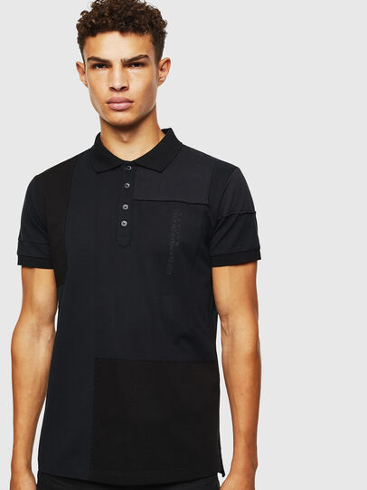 Diesel - T-POLPATCH, Negro - Polos - Image 1