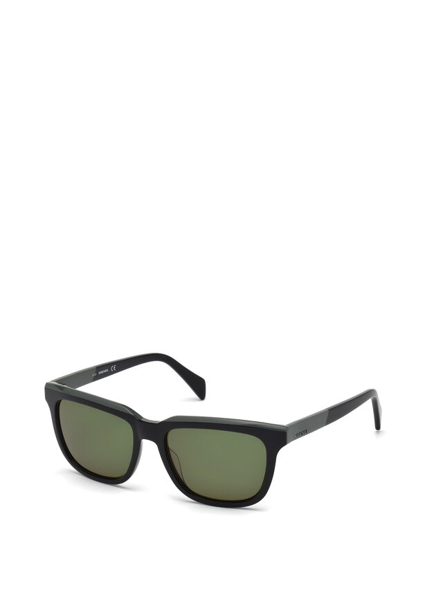 Diesel - DL0224, Verde - Gafas de sol - Image 4