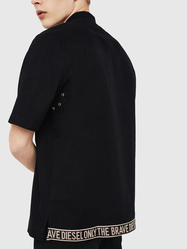 Diesel - S-DRINA, Negro - Camisas - Image 3