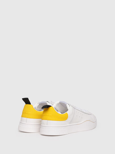 Diesel - S-CLEVER LOW, Blanco/Amarillo - Sneakers - Image 3
