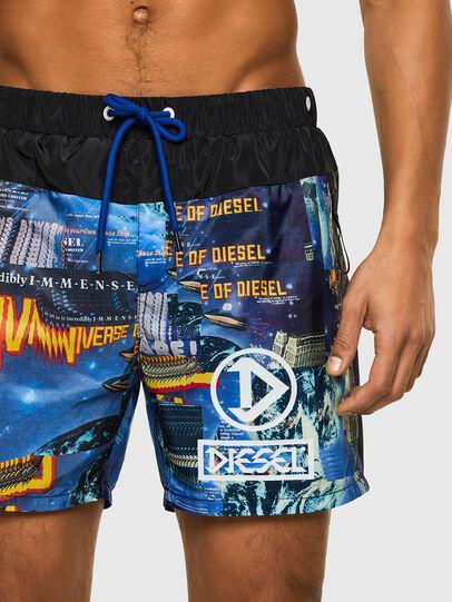 Diesel - BMBX-WAVE-Y, Negro/Azul marino - Bañadores boxers - Image 3